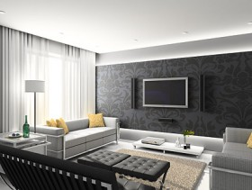 Beautiful home interior picture material  2