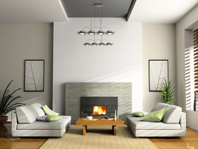 Beautiful home interior picture material  4