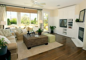 Beautiful home interior picture material  7
