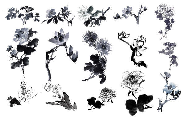 4-Designer | Chinese Painting the Ink Flower HD picture 15