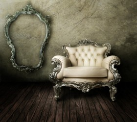 European gorgeous sofa picture photo frame HD