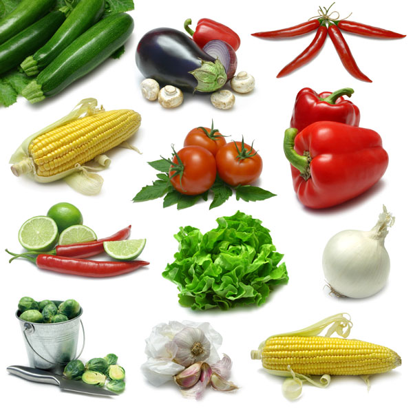 Fresh vegetables HD Image 1