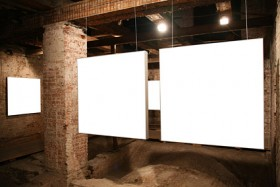 Gallery template picture material  3
