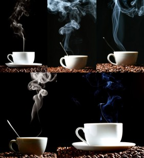 HD pictures of hot coffee theme