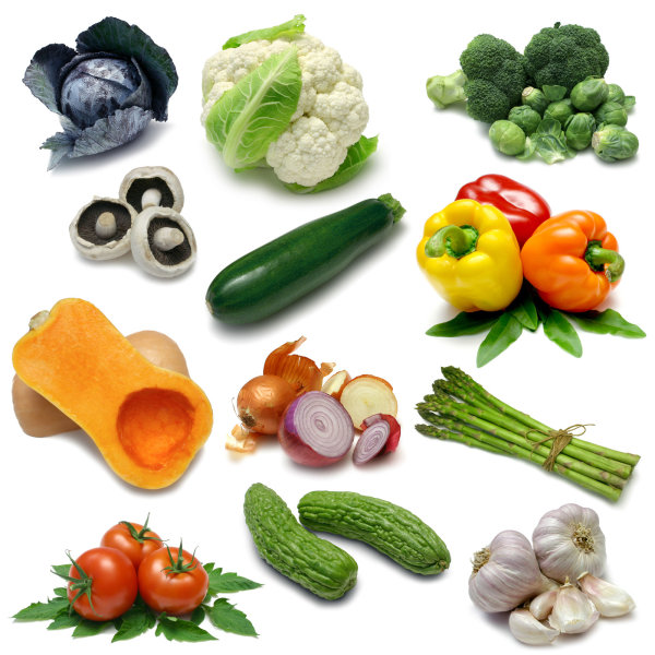 High quality pictures of fresh vegetables