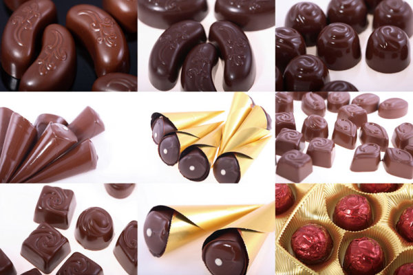In boutique chocolate series HD picture 01