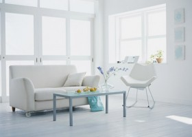 Modern living room picture quality material and bright; fashion