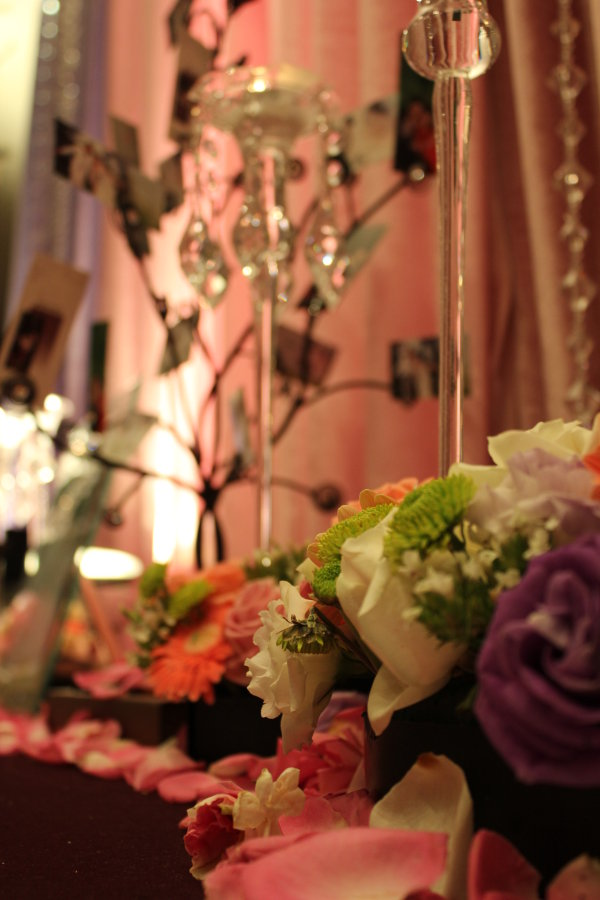 Wedding decoration flower HD picture