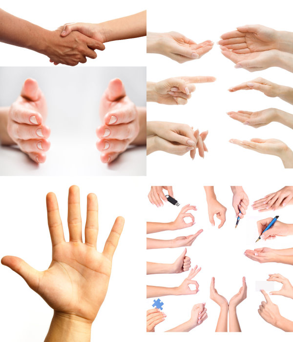 Palm gesture   HD Pictures