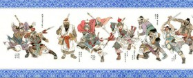 Tales Series Zhao Mingjun Water Margin characters scroll HD pictures