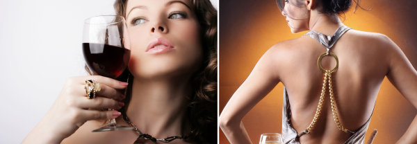 Wine and woman HD picture