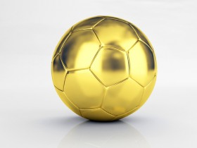 HD Images of a gold football