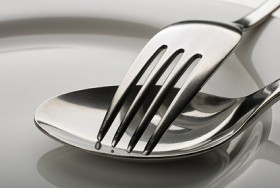 Tableware close up picture material