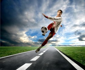 The cool football HD picture  5