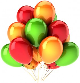 Brilliant colored balloons 07   HD Images