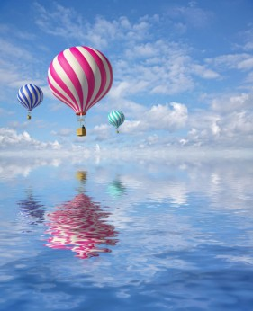 Business Pictures hot air balloon 01 HD picture