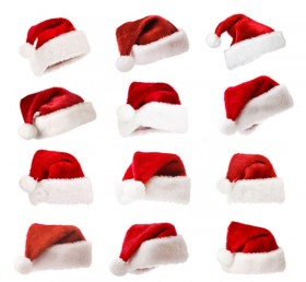 Christmas hats 01   HD Pictures
