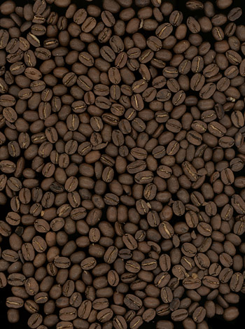Coffee beans background boutique picture material