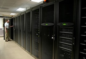 Data center the picture material  3