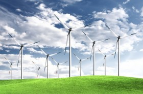 Ecology and wind power generation 02   HD Images