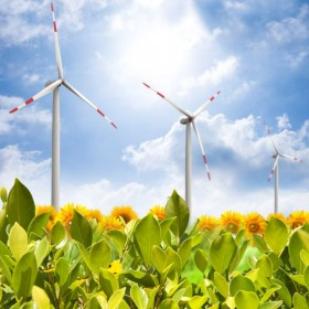 Ecology and wind power generation 05   HD Images