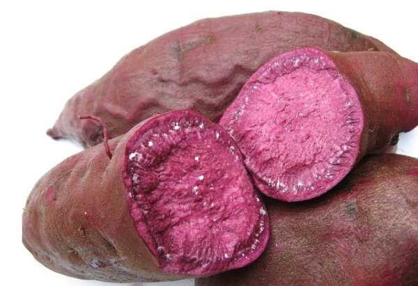 Fruits and vegetables SD material   purple potato 01