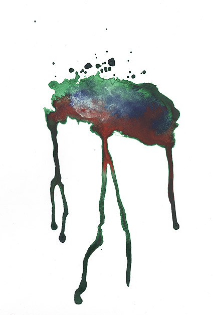 GoMedia produced watercolor ink Images V2 18