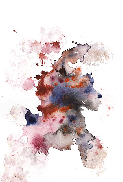 GoMedia produced watercolor ink Images V2 45