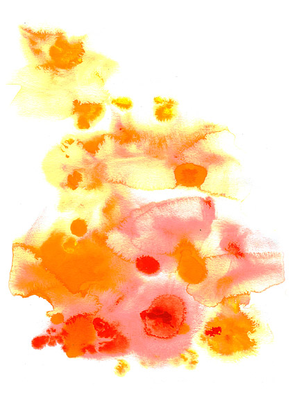 GoMedia produced watercolor ink picture material  014