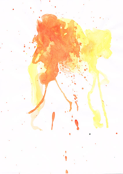 GoMedia produced watercolor ink picture material  037