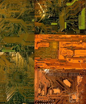 Integrated circuit motherboard   HD Images