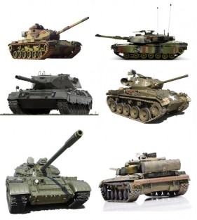 Kinds of tanks   Military HD Images