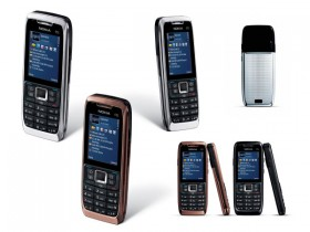 Nokia E51 mobile phone HD picture