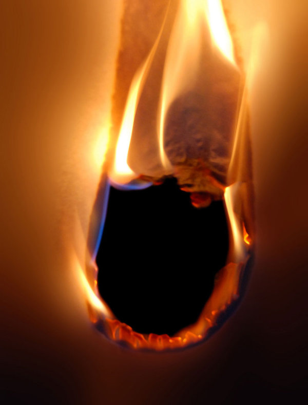 Paper ignited instantly   hd picture