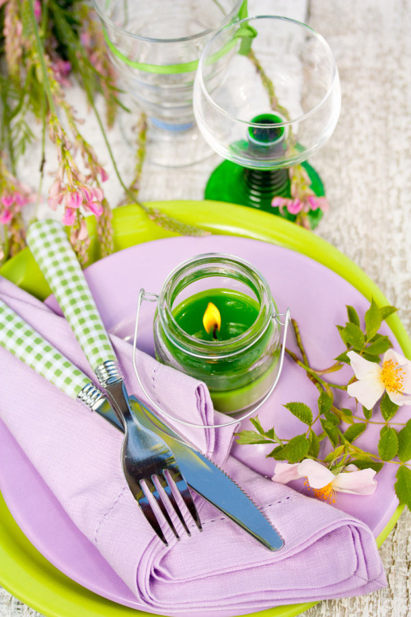 Pastoral style tableware Image 01   HD Images