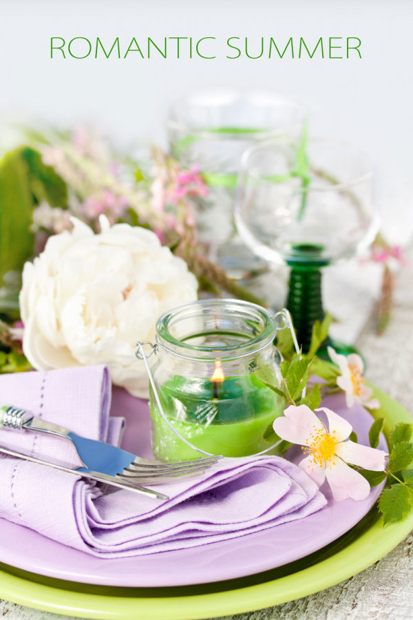 Pastoral style tableware Image 02   HD Images