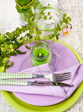 Pastoral style tableware Image 05   HD Images