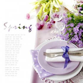 Pastoral style tableware Image 06   HD Images