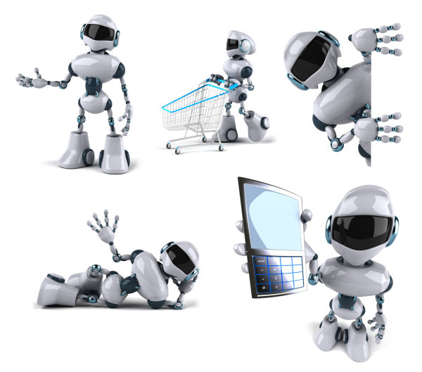 Robot action HD pictures
