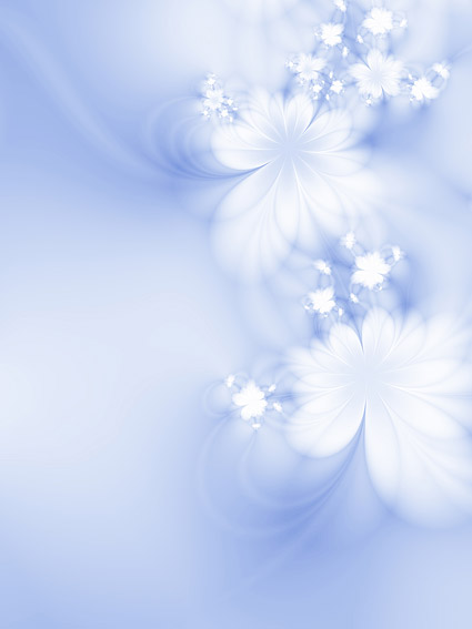 Symphony of flowers background picture material  5