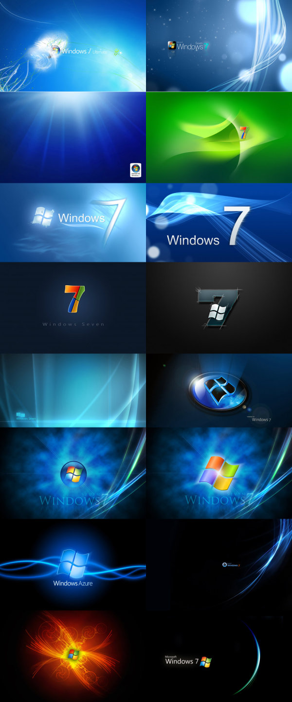 Window7 desktop background HD picture