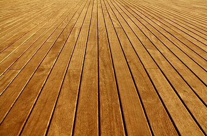 Wood grain flooring picture material