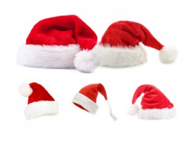 5 Christmas hats HQ Pictures