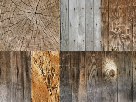 6 plank wood grain high definition picture