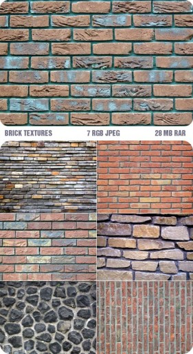 7 high definition brick wall texture pattern