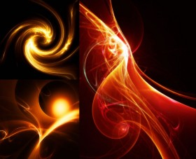 A beautiful flame   HD picture