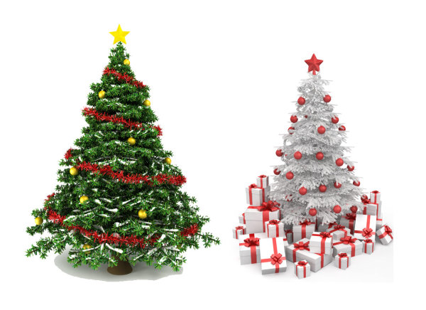 Beautiful Christmas tree 02   HD Pictures