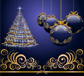 Beautifully festive Christmas design elements  46   HQ Pictures