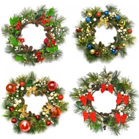 Christmas garlands 01   HD Pictures