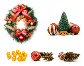 Christmas theme elements   high definition picture material